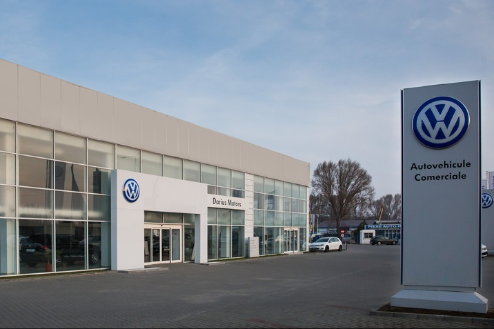 Showroom Volkswagen Radacini Motors